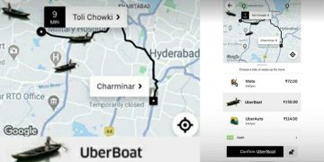 Uber Boat Service Meme from Charminar to Towlichowki