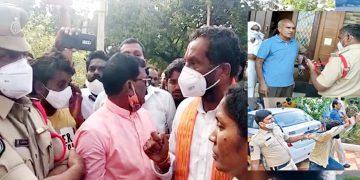 Police Raid BJP Candidate Raghunandan Rao Relatives Home