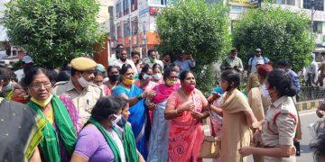 AP Police Brutality Towards Farmers Protesting In Amaravati, AP