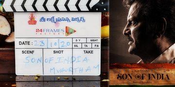 Mohan Babu's New Movie Son of India