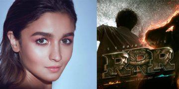 Alia Bhatt RRR Movie Shoot