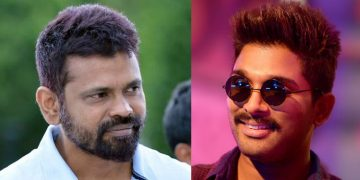 Sukumar and Allu Arjun