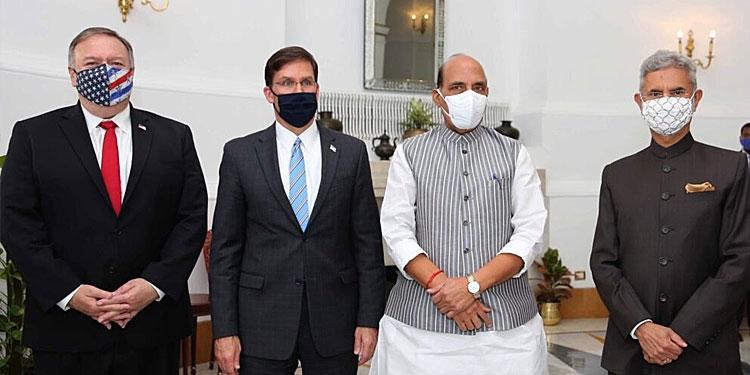 India US Sign Beca Treaty