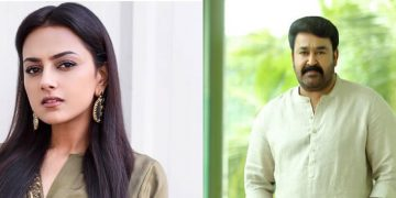 Srinidhi Shetty and Mohan Lal