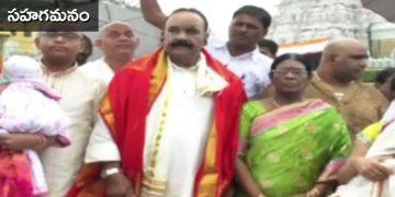 TRS Nayani Narasimha Reddy wife Ahalya