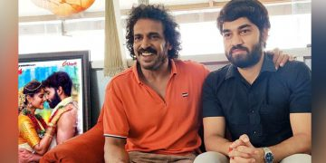 Upendra and Akshith Shashi Kumar