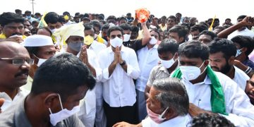 Nara Lokesh Tour of Anantapur District to Meet Flood Affected Farmers