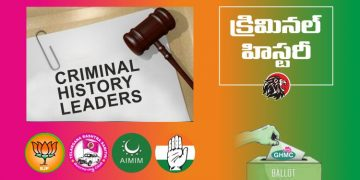 Candidates with Criminal Records GHMC Elections