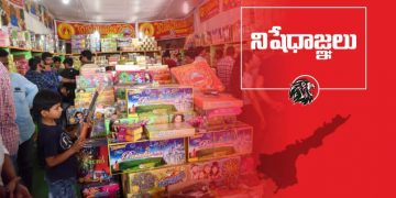 AP Governement Ban Diwali Fire Crackers