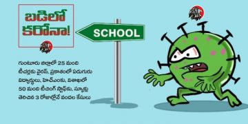 Telugu Cartoon on Corona
