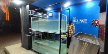 Live Fish Sales Through Kiosk