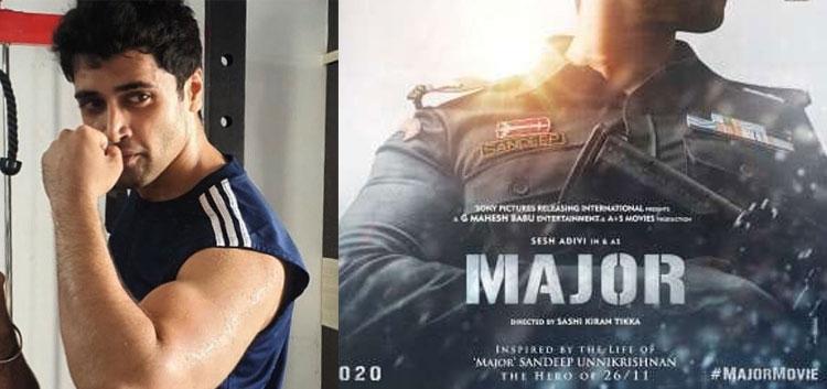Adivi Sesh Major Movie poster