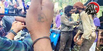 Pushpa Movie Shoot Leaked Photo Maredumilli