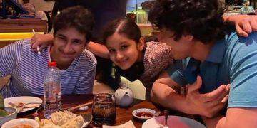 Mahesh DInner with Family
