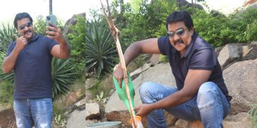 Sunil Accepts Green Indian Challenge