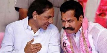 Telangana CM KCR & Teegala Krishna Reddy