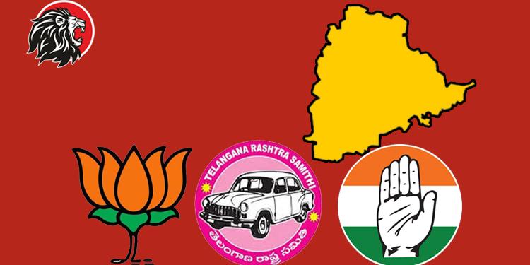 Telangana Political parties