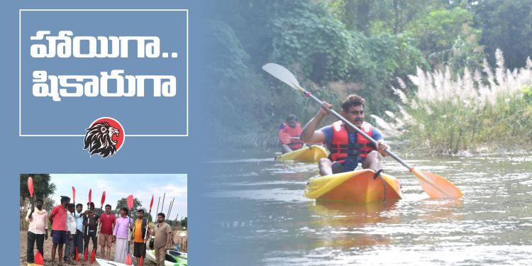 Konda Vishweshwar Reddy Boating