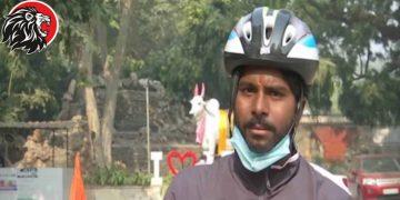 Hyderabadi Cyclist Anand Goud