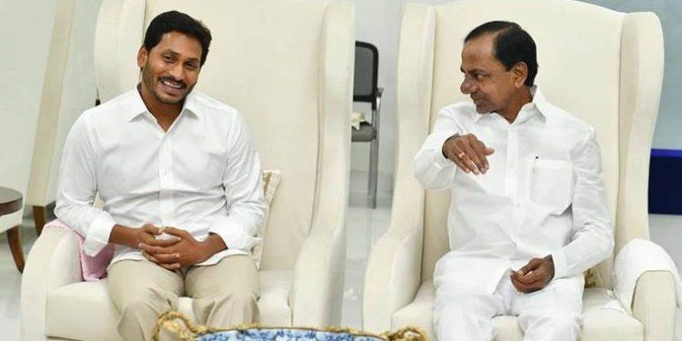 YS Jagan and KCR