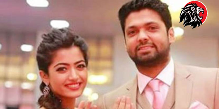 rashmika and Rakshit Shetty HD