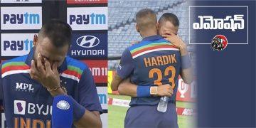 Krunal Pandya Emotional Breaks down - www.theleonews.com