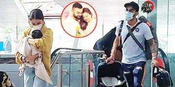 virat kohli - anushka sharma spotted at airport - www.theleonews.com