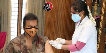 Mohan Babu takes Covid Vaccine - www.theleonews.com