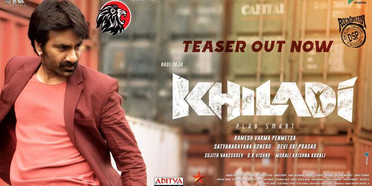 Khiladi Teaser Out - www.theleonews.com