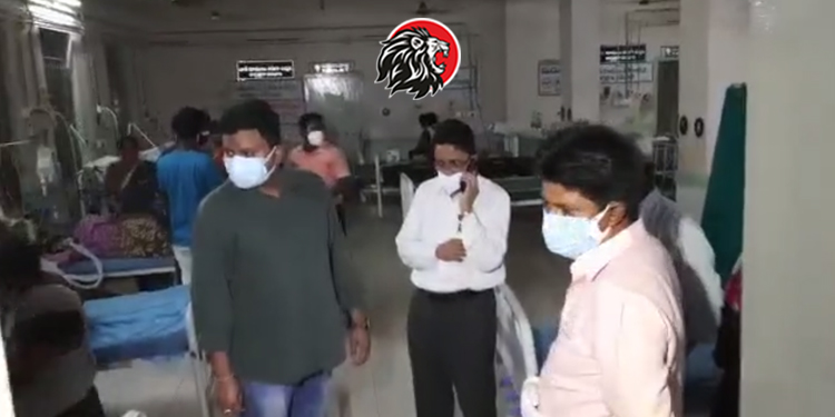 10 carona patients died due to oxygen shortage in Ananthapur