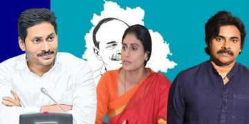 Pawan Welcomes Sharmila Party
