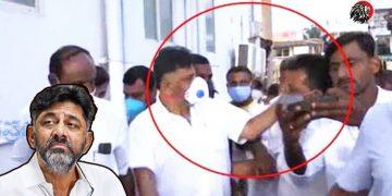 Shivakumar Slaps Party Follower
