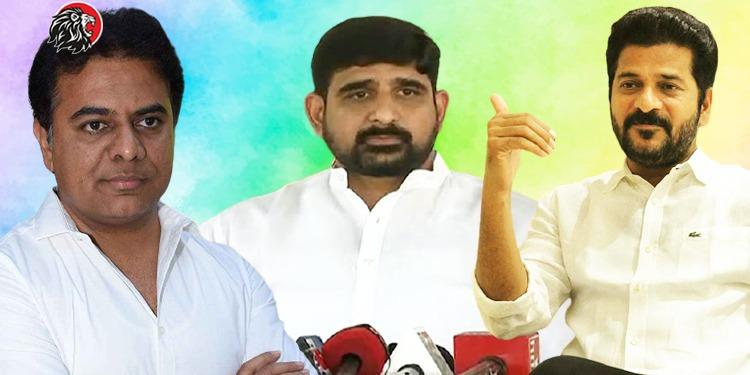 Kaushik Reddy Resigns Congress Party
