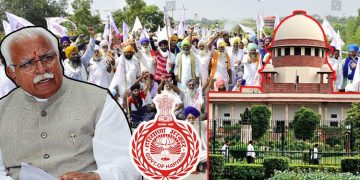Sedition Case On 100 Farmers In Haryana