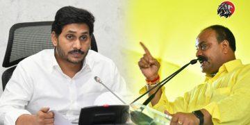 Atchannaidu Warns To AP CM Jagan