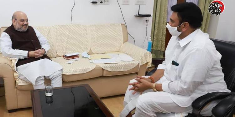 Raghurama Meets Amit Shah