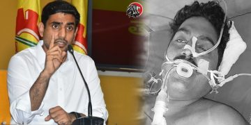 Nara lokesh fires on ycp government