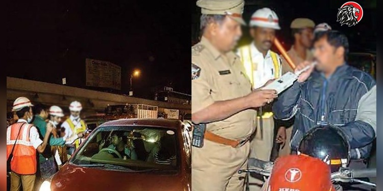 Drunk And Drive In Hyderabad