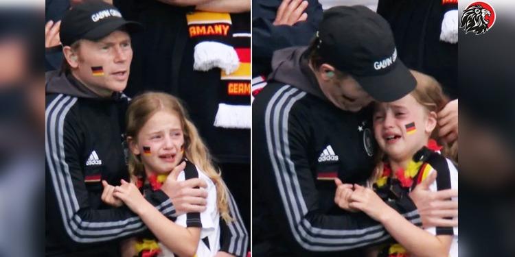 Crying German Girl
