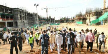 New Pace At Secretariat Construction