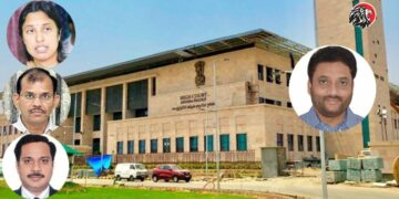 Four IAS Officers Attend AP High Court