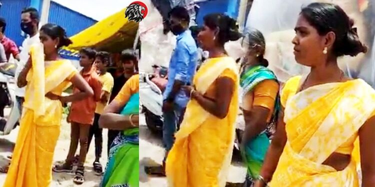 Vinayaka Idol Making Woman