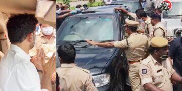 TDP National General Secretary Nara Lokesh Fires At Police