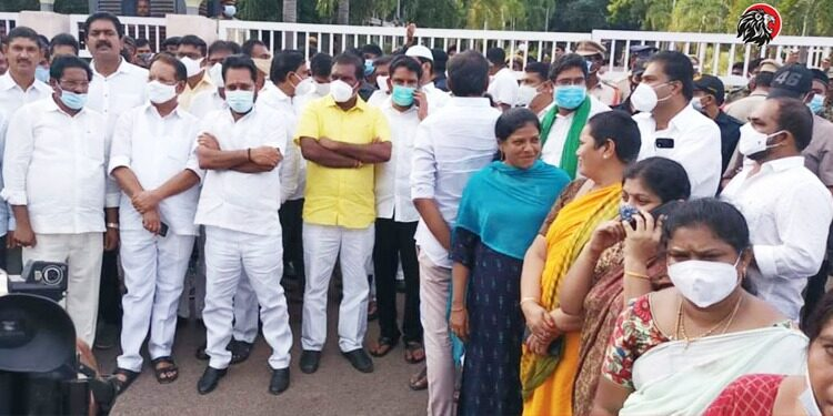 AP Police Have Registered Cases Against 17 Key Leaders Of The TDP