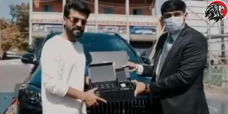 Ram Charan Buys Mercedes Maybach