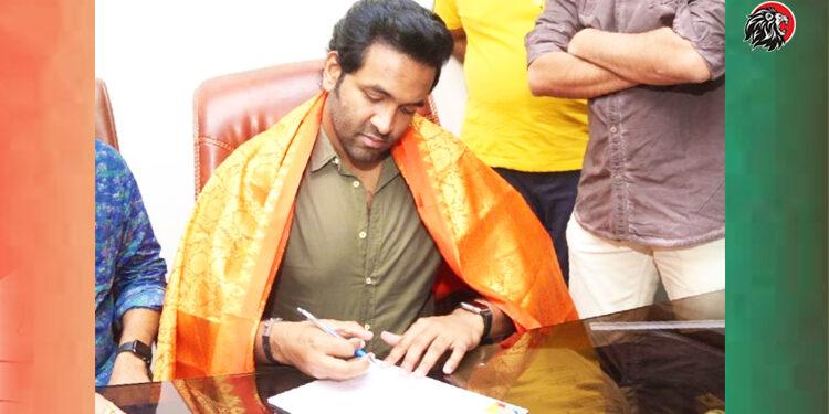 Manchu Vishnu Takes Charge As Maa President