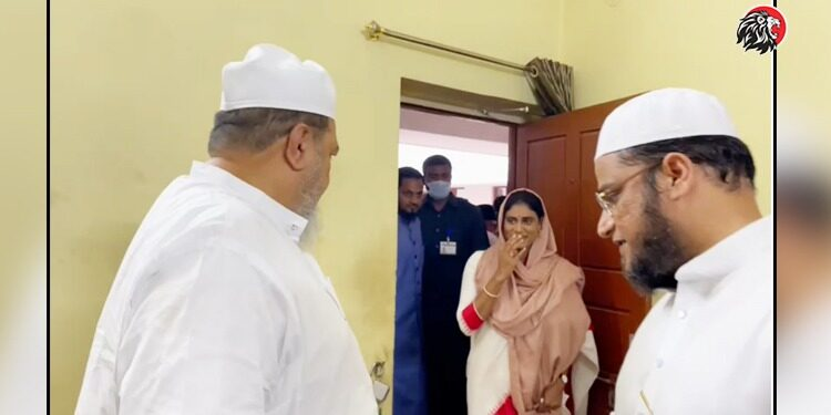 YSRTP Chief YS Sharmila Meets Majlis Party Supporters In Hyderabad